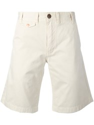 Barbour Neuston Twill Shorts Nude Neutrals