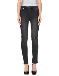 Blk Dnm Denim Denim Trousers Women