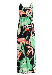 Kiomi Maxi Dress Black Multicoloured
