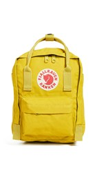 Fjall Raven Fjallraven Kanken Mini Backpack Birch Green