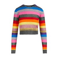 Miu Miu Wool And Mohair Blend Sweater Multi