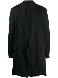 Julius Long Tuxedo Jacket Black