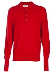 Pringle Of Scotland Vintage Cashmere Jumper Red