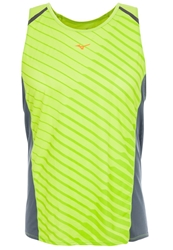Mizuno Drylite Premium Top Lime Green