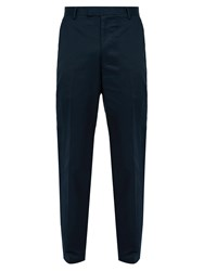 Saturdays Surf Nyc Leon Cotton Trousers Navy