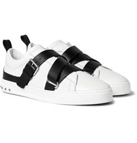Valentino Leather Sneakers White