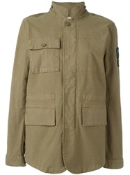 Tory Burch Military Jacket Green