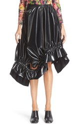 Marques Almeida Women's Marques'almeida Asymmetrical Faux Leather Skirt