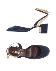 Avril Gau Pumps Dark Blue