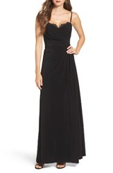 Vera Wang Women's Pleated Gown