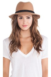 Rvca Rosy Fruits Fedora Tan