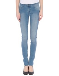Vila Denim Pants Blue