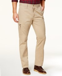 Club Room Men's Classic Fit Cargo Pants Created For Macy's Rustic Khaki
