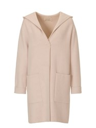 Betty Barclay Hooded Coat Cream
