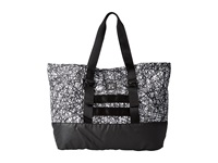 Hurley Beach Active 2.0 Tote White Web Tote Handbags Black