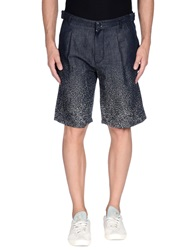 Raf Simons Denim Bermudas Blue