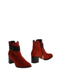 Atos Lombardini Ankle Boots Rust