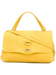 Zanellato Small Pura Tote Yellow Orange