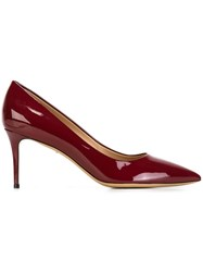 Salvatore Ferragamo 'Susi' Pumps Red