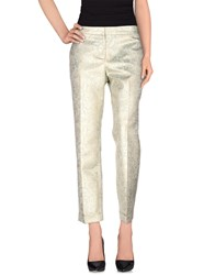 Tory Burch Trousers Casual Trousers Women Platinum