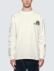 Sankuanz Embroidered Logo Long Sleeve T Shirt White