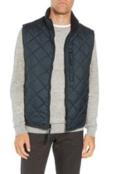Marc New York Chester Packable Quilted Vest Black