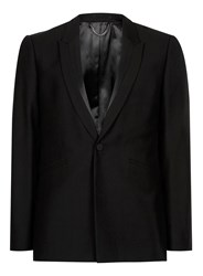 Topman Black Satin Detail Skinny Fit Tuxedo Jacket