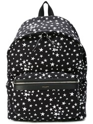 Saint Laurent City Backpack Black