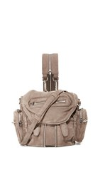 Alexander Wang Mini Marti Convertible Backpack Mink Grey