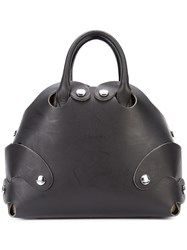 Vivienne Westwood Flinstone Tote Women Leather One Size Black