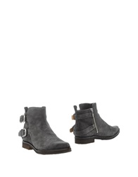 Belle By Sigerson Morrison Ankle Boots Grey