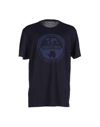 Napapijri Topwear T Shirts Men Dark Blue
