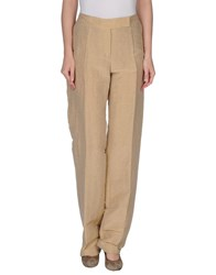 Boss Black Trousers Casual Trousers Women Sand