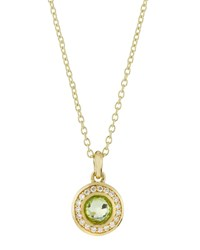 Ippolita 18K Lollipop Mini Peridot And Diamond Pendant Necklace Women's