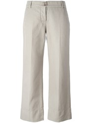 Aspesi Cropped Pants Nude Neutrals