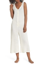 Lacausa Elderflower Lounge Jumpsuit Bone