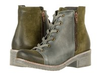 Naot Footwear Groovy Oily Olive Suede Vintage Smoke Leather Women's Boots Multi
