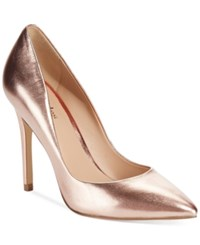 Charles By Charles David Pact Leather Pumps Women's Shoes Rose Gold