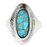 Stefanie Sheehan Jewelry Paradise Ring With Inlay Stonesterling Silver 7 Turquoise