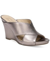 Naturalizer Bianca Wedge Sandals Women's Shoes Bronze