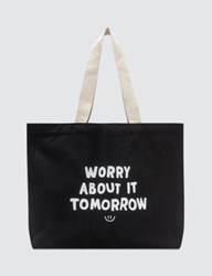 The Quiet Life Worry About It Tote Bag