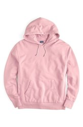 J.Crew Garment Dyed French Terry Hoodie Light Pink