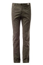 Tommy Hilfiger Men's Bleecker Paisley Chinos Forest Green