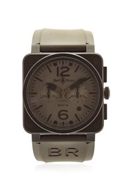 Bell And Ross Br 03 94 Chrono Pvd Steel Watch