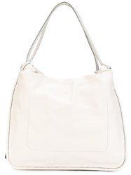 Marni Nuage Calf Drawstring Bag Women Calf Leather Polyester One Size Nude Neutrals