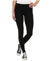 Converse Global Fit Knit Leggings Black Women's Casual Pants