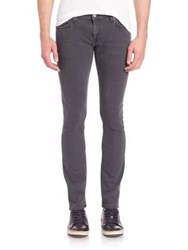 Nudie Jeans Long John Skinny Jeans Grey On Grey