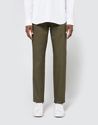 Need Down Chino In Olive