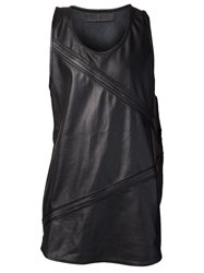 En Noir Scoop Neck Tank Black