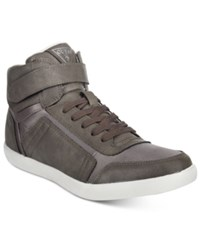 Guess Men's Jojen High Top Sneakers Men's Shoes Grey